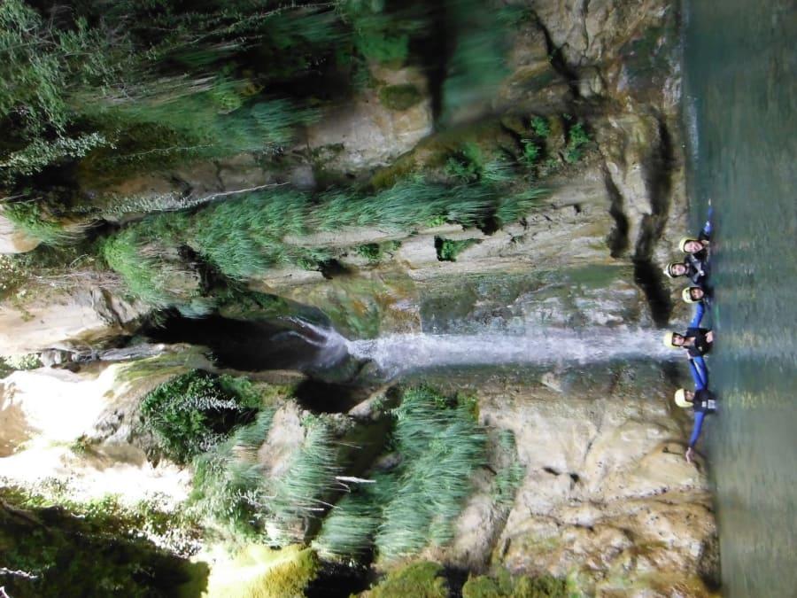 Canyoning sur le Riou de Cuébris (Estéron-06)