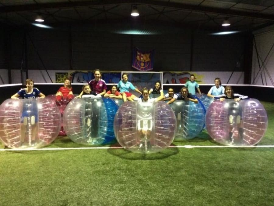 Anniversaire Bubble Foot dès 10 ans proche Grenoble (38)