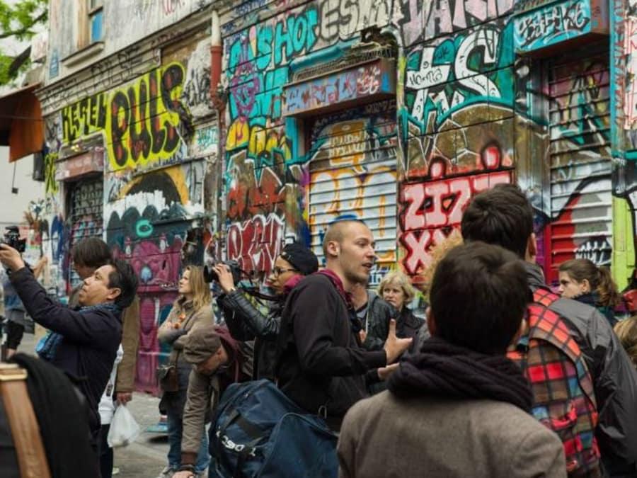 Visite - Street Art à Belleville à Paris 11e