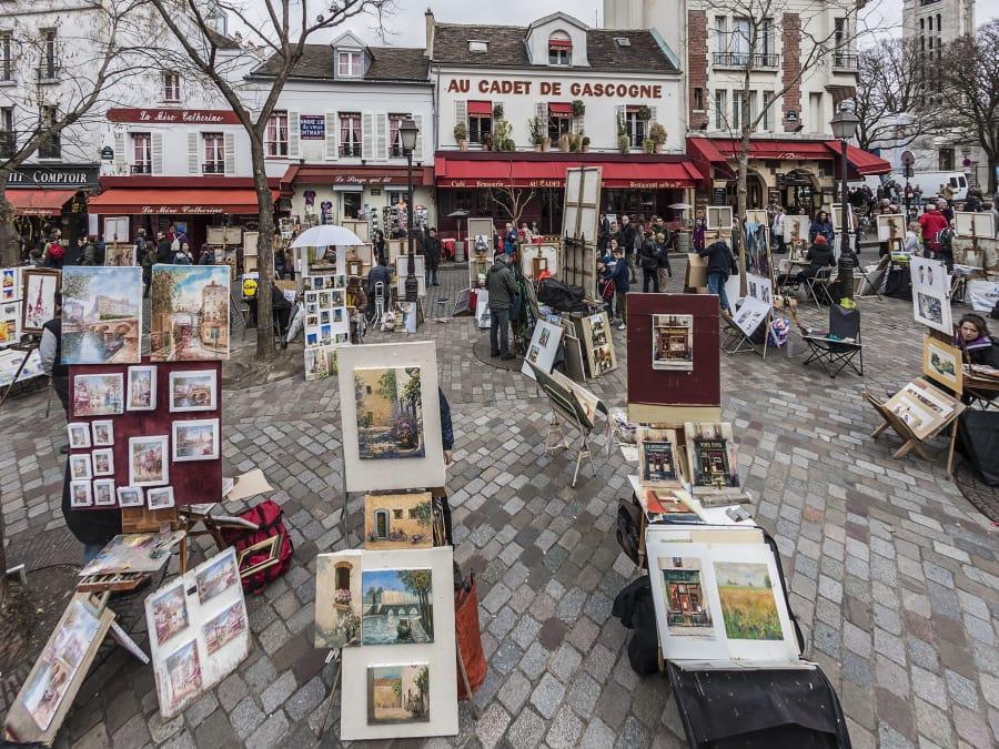 Anniversaire Jeu de Piste 5-12 ans Les Artistes à Montmartre