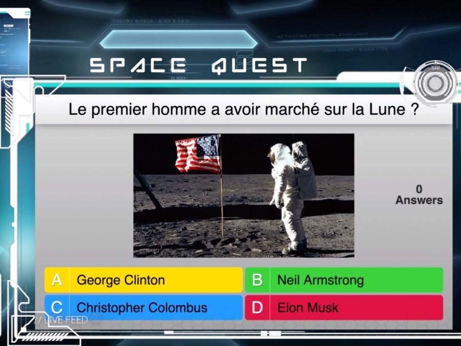 "Team Building quiz ""Space Quest"""