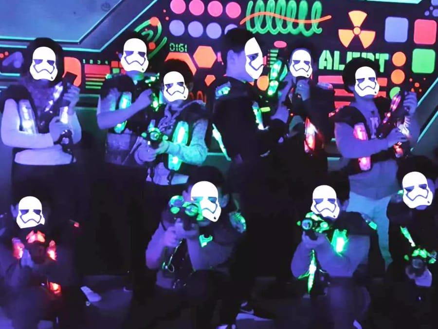 Laser Game Spécial Halloween à Rueil-Malmaison (92)