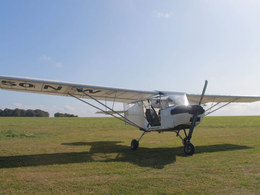 Initiation au pilotage ULM Multiaxes à Dinard (35)