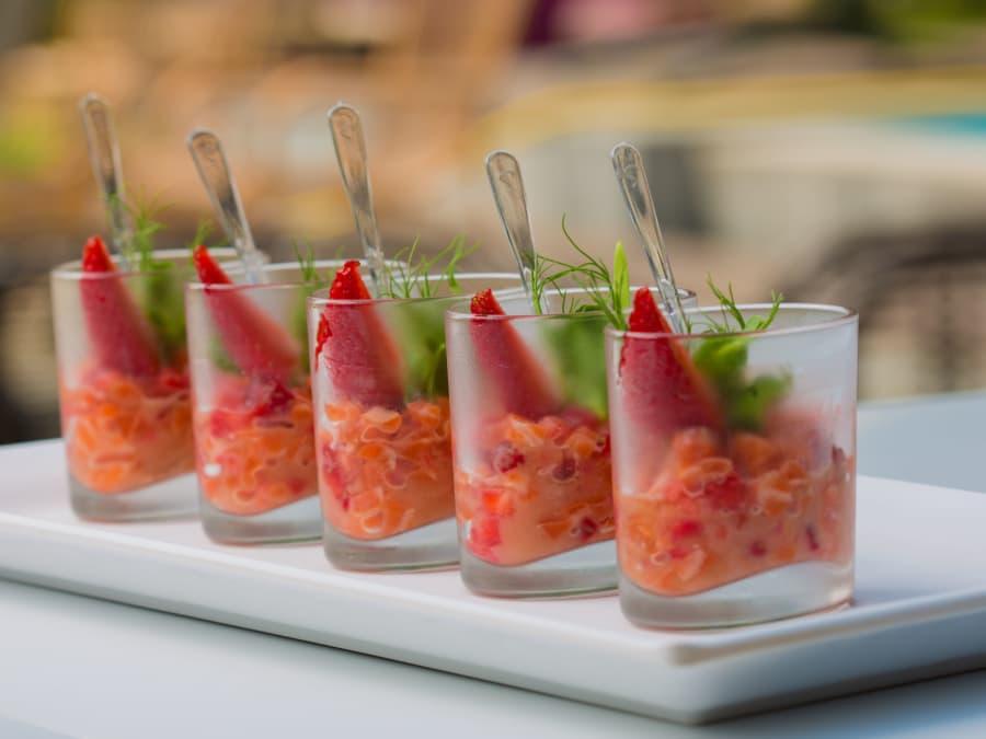Apprenez à réaliser un apéritif dînatoire aux côtés d'un chef