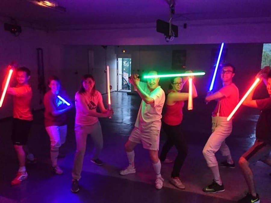 Initiation au combat au Sabre Laser à Aix-en-Provence (13)