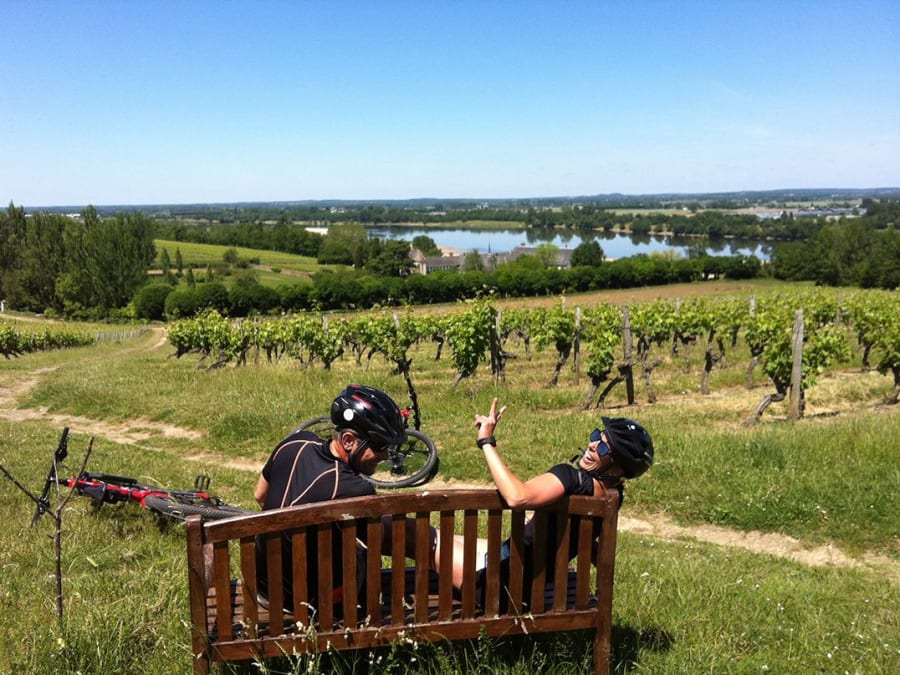 Découverte à VTT de la Loire classée UNESCO en Anjou