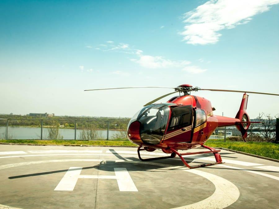 Vol en Hélicoptère au Pays des Pierres dorées