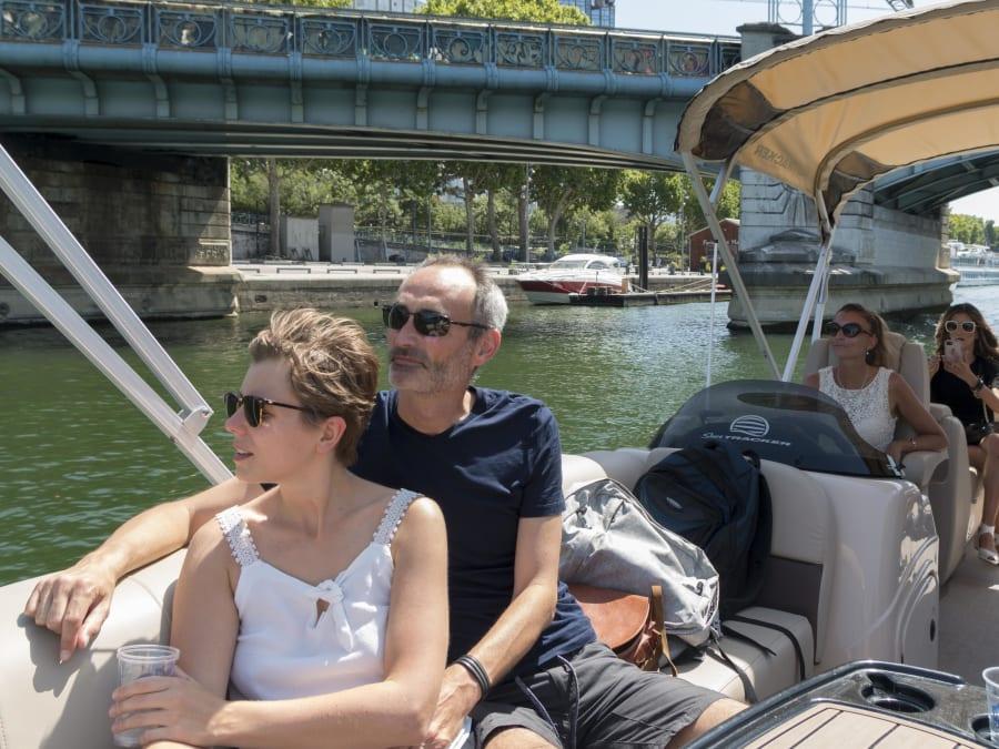 Balade Privée en Bateau sur la Seine