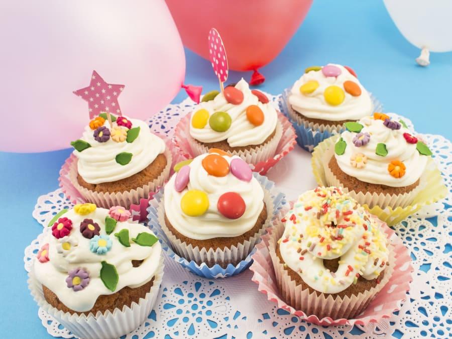 Anniversaire Atelier Cupcakes Bio 3-12 ans à Paris 15ème