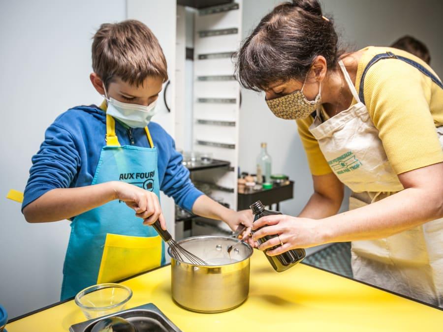 Anniversaire Cupcakes Bio 7-15 ans à Paris 11ème