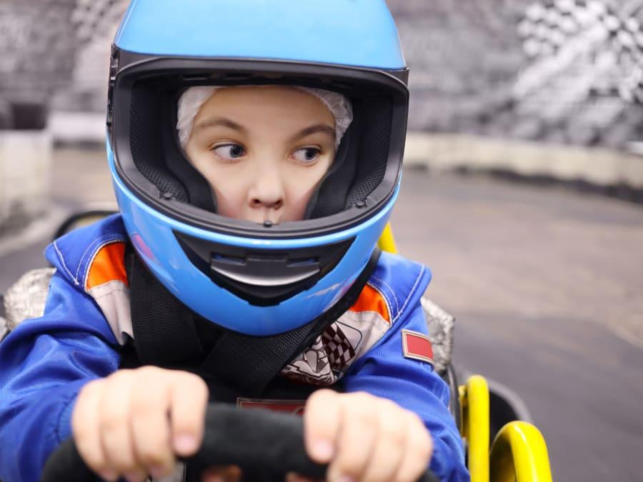 Anniversaire Pilotage Karting 8-15 ans à Moissy-Cramayel (77)