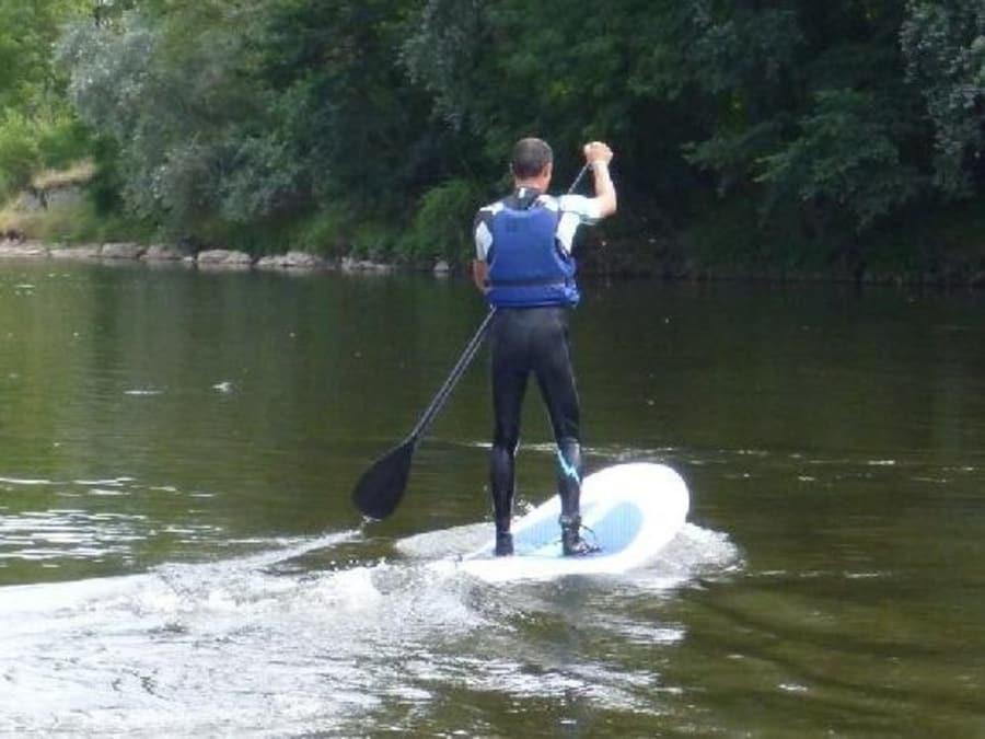 Stand Up Paddle dans les gorges de l'Aveyron