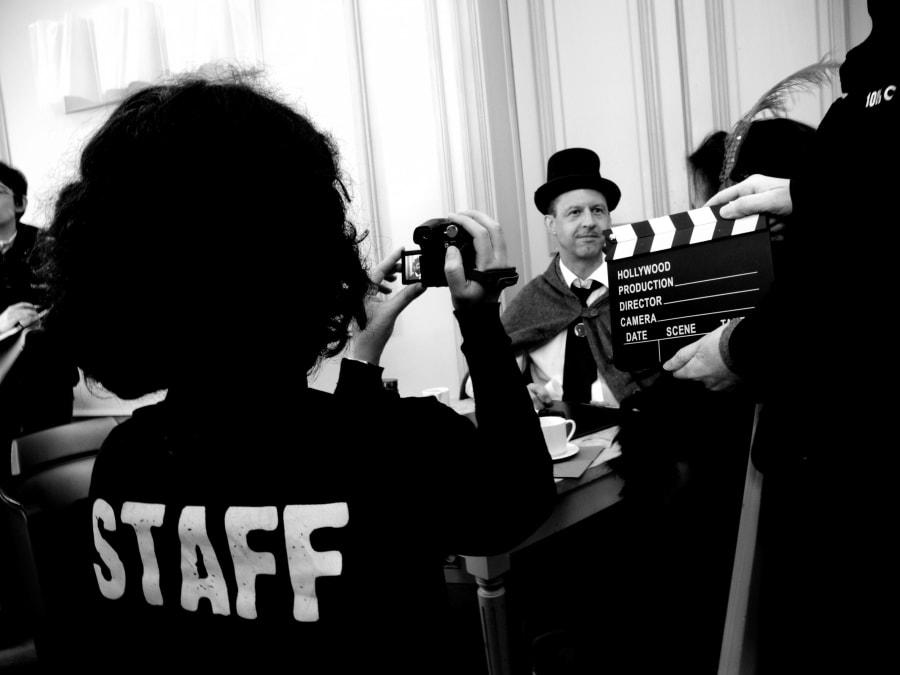 Team Building Cinéma : Réalisez un film muet et burlesque