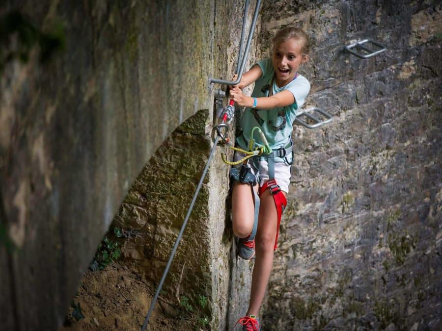 Parcours aventure Accrobranche au Fort de Vancia proche de Lyon
