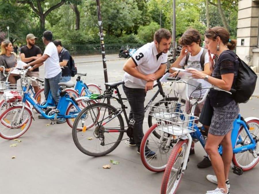 Urban Game à Vélo dans Paris