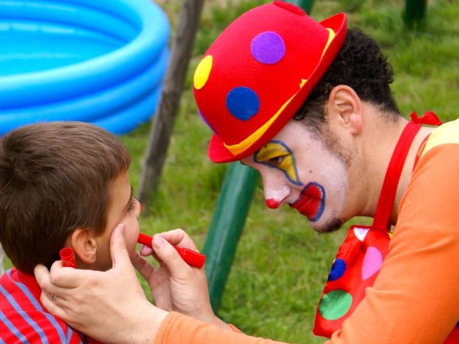 Anniversaire Cirque 3-9 ans à domicile
