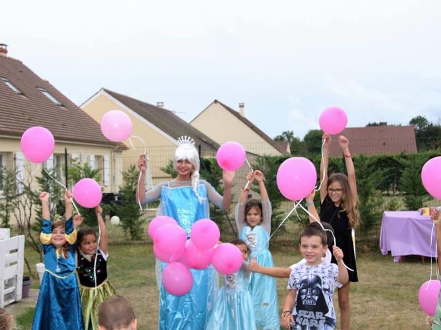 Anniversaire Princesse 4-9 à domicile (IDF)