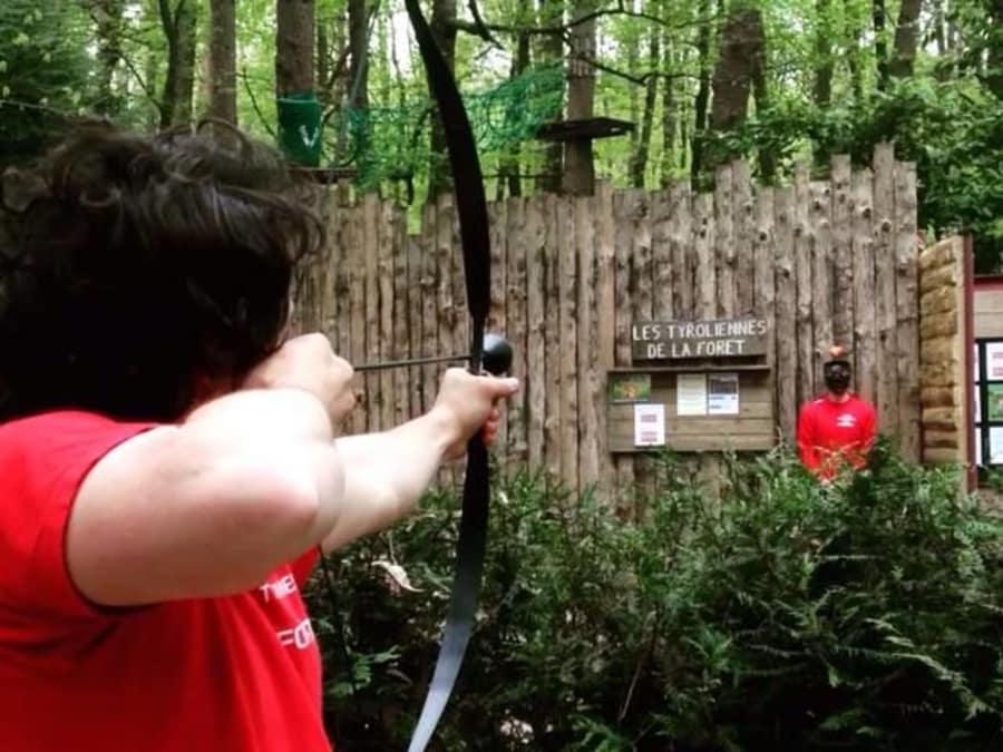 Anniversaire Archery Game 8-18 ans proche du Mans
