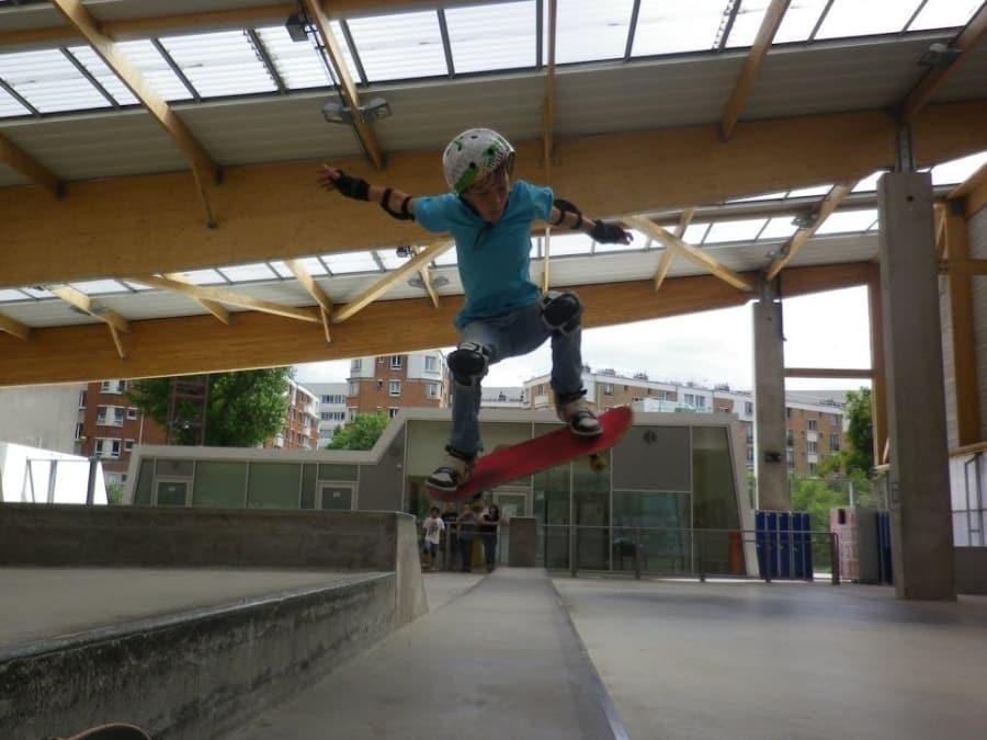 Stage vacances Skateboard 5-12 ans à Paris