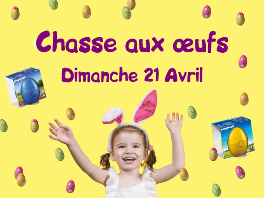 Chasse aux oeufs au Gulli Parc d'Aix en Provence le 21 avril!