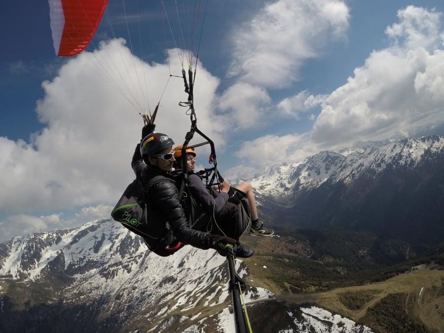 Bapteme Vol en parapente à Combe de Savoie (73)