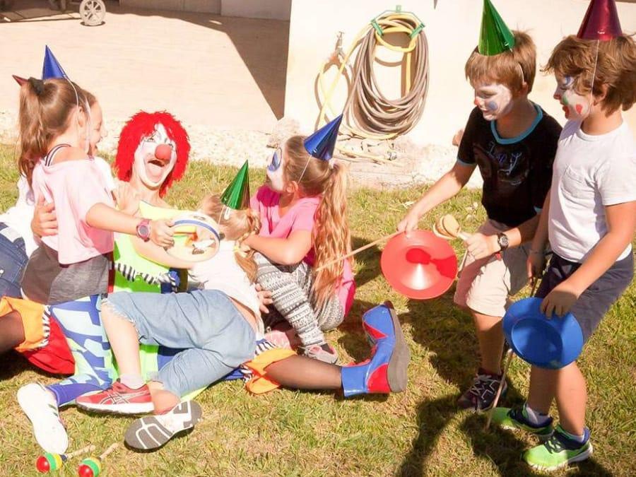 Anniversaire Cirque 3-12 ans à domicile