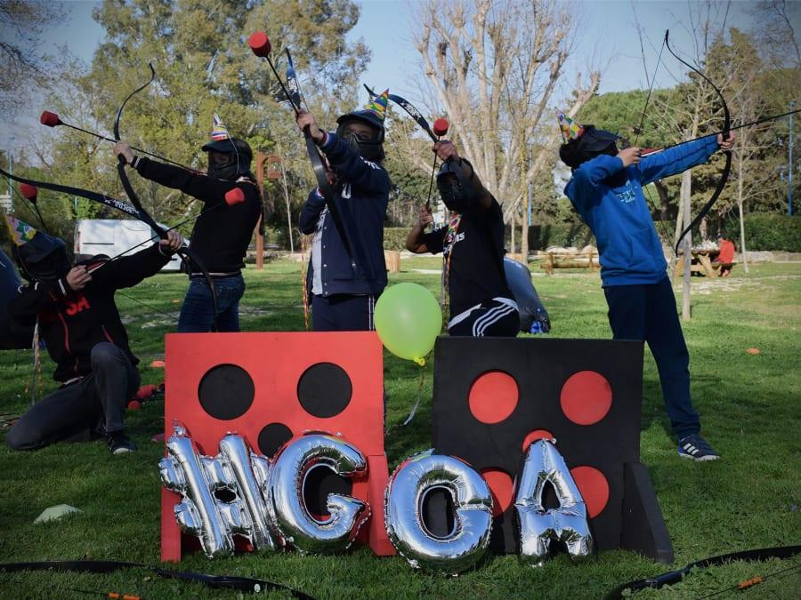 Anniversaire Archery Tag 7-15 ans à domicile (06) et (83)