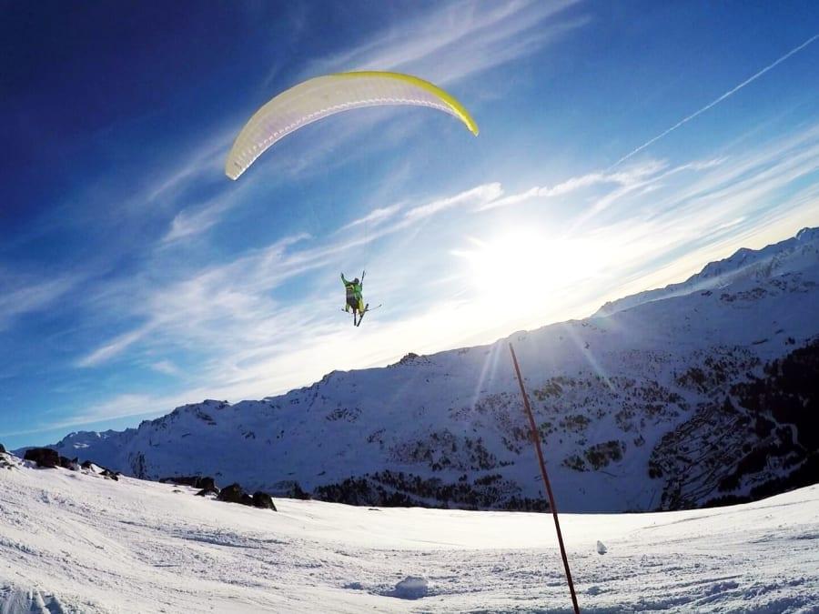 Vol en parapente à Courchevel-Méribel dans les 3 Vallées
