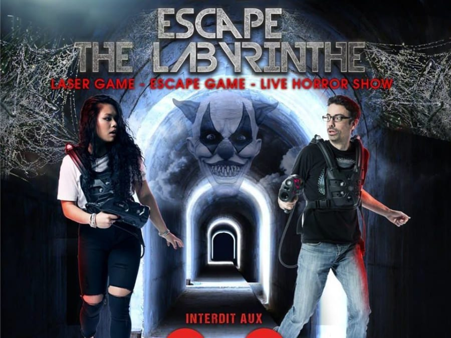"Escape Laser Game à Lognes ""Escape the Labyrinthe!"""