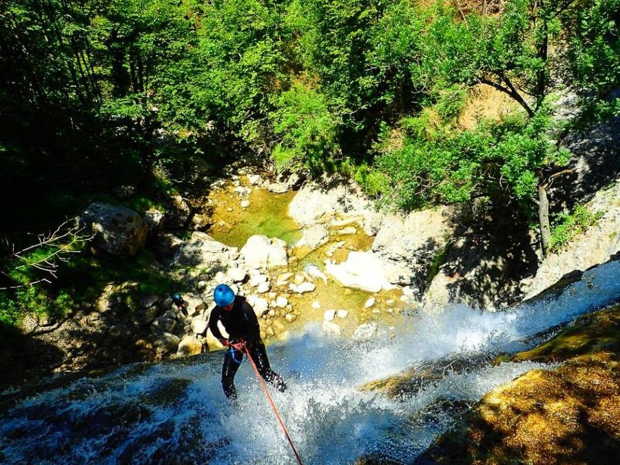Canyoning des écouges dans le Vercors (38)