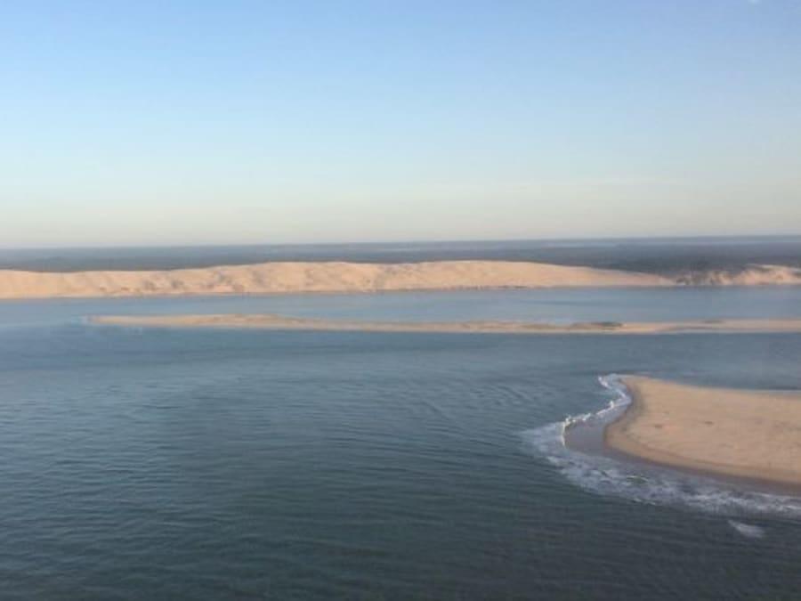 Vol en hélicoptère grand tour Bassin d'Arcachon - 30 minutes