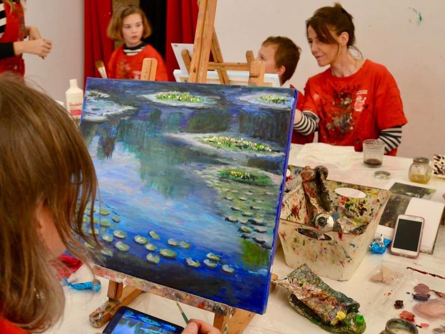 Anniversaire Peinture 5-12 ans à Montpellier