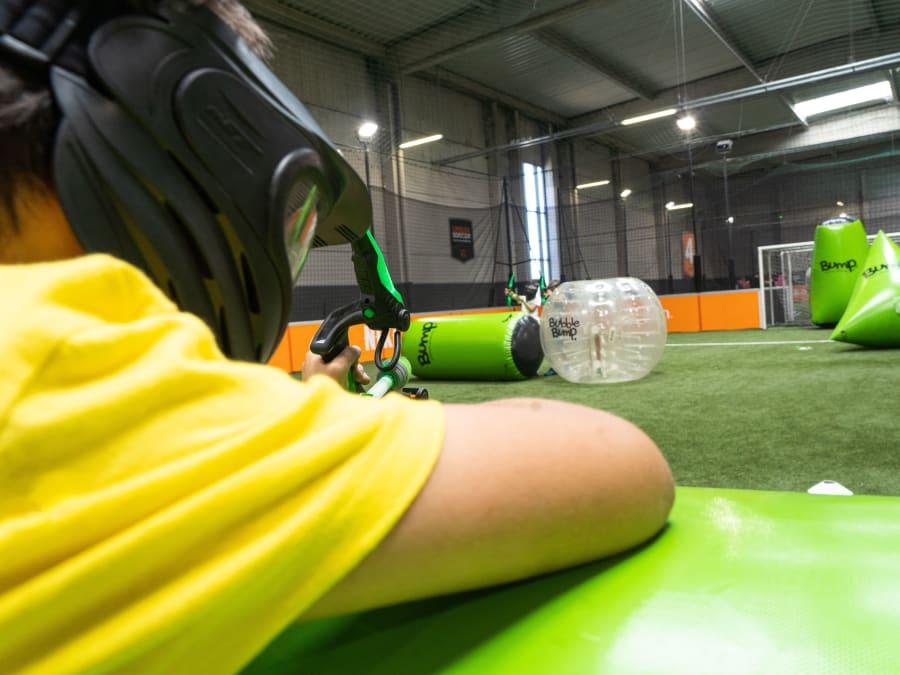 Anniversaire Bubble & Archery 7-15 ans à Rennes Cap Malo (35)
