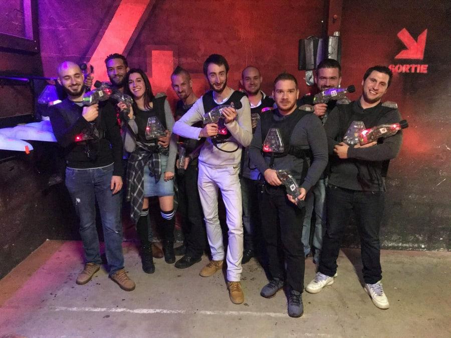 Laser Game spécial EVG/EVJF à Val d'Europe