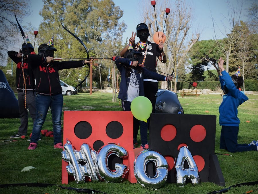 Anniversaire Archery Tag 7-15 ans à Nice (06)