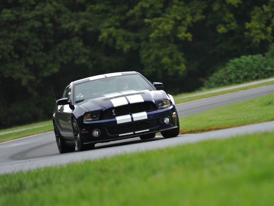 Stage de pilotage en Mustang Shelby - Circuit de Pont l'Evêque