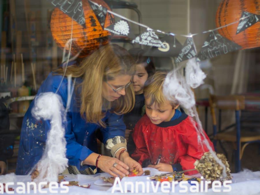 Atelier Créatif spécial Halloween à Paris 15ème