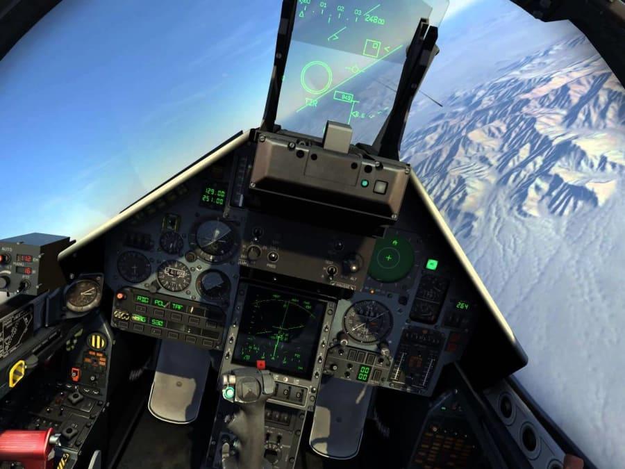 Simulateur de combat aérien Mirage 2000 à Lille