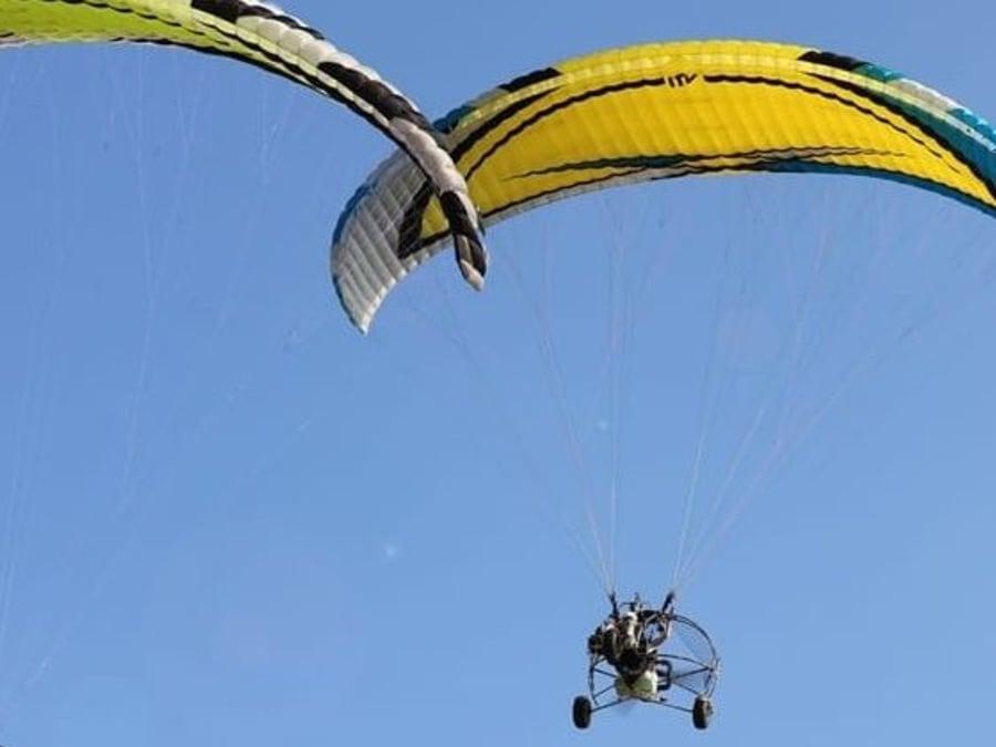 Initiation au pilotage d'ULM Paramoteur proche de Langon (33)