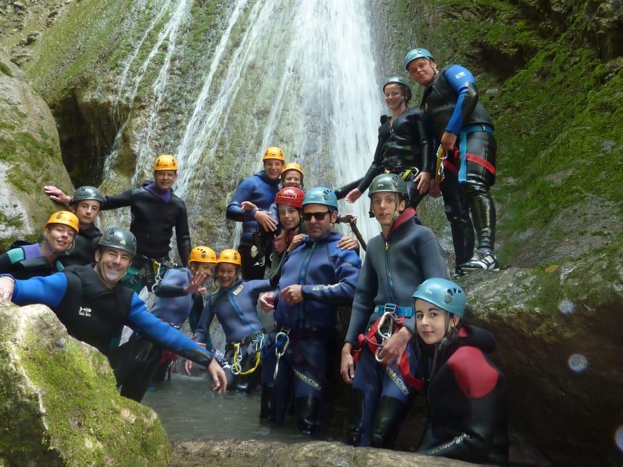 Canyon de la Mine pour initiés proche d'Annecy (74)