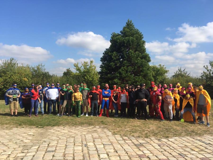 Team Building Super Héros Nomade