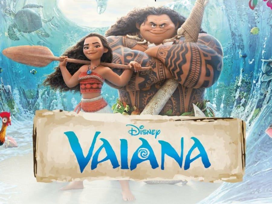 Anniversaire Vaiana 3-12 ans à domicile