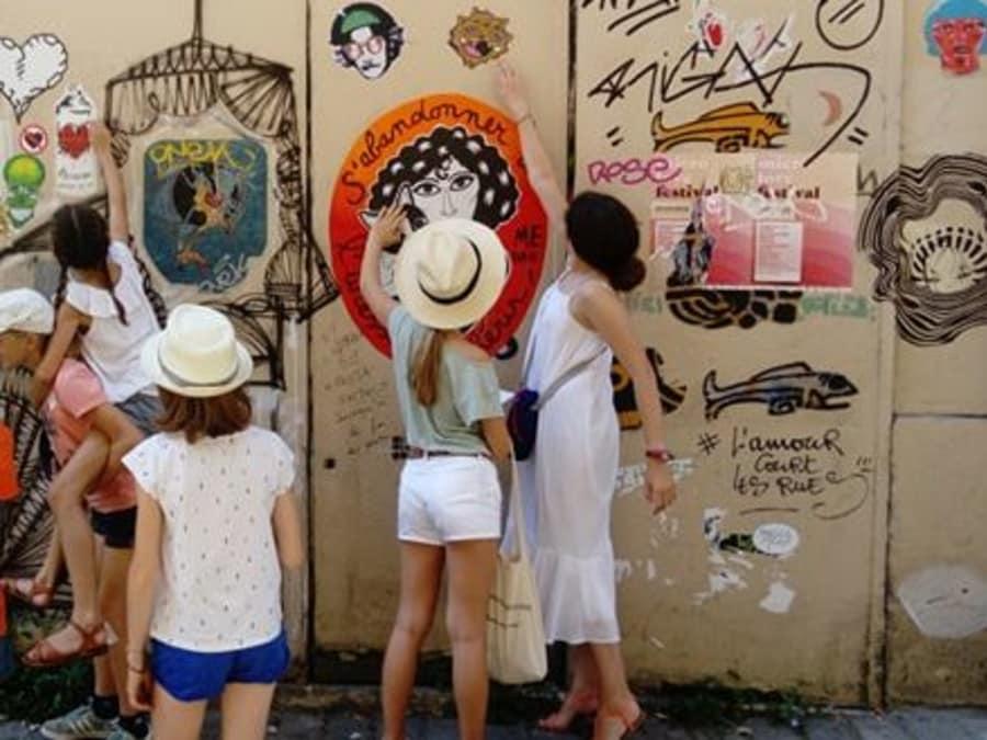 Anniversaire Jeu de Piste Street Art à Montmartre (Paris 18ème)
