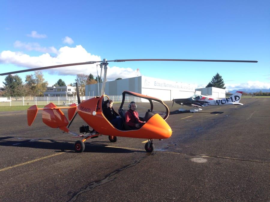 Vol en ULM Autogire proche de Grenoble (38)