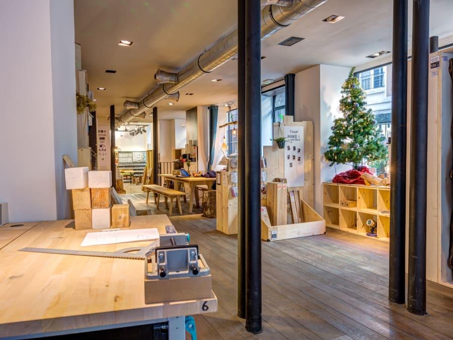 Anniversaire Bricolage DIY fabrication d'un puissance 4 en bois