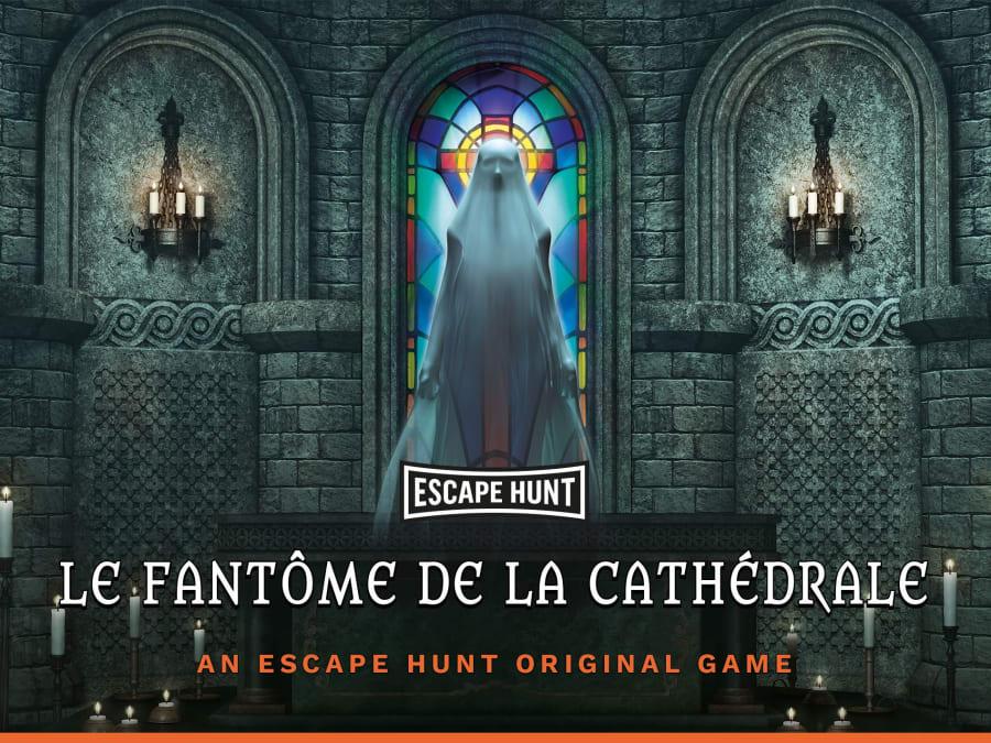 """Escape Game """"Le Fantôme de la Cathédrale"""" à Clermont-Ferrand"""