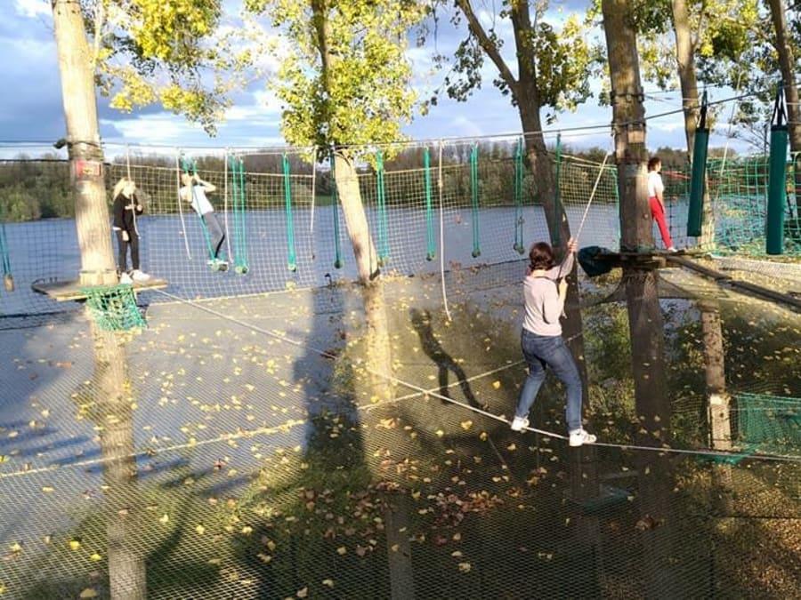 Parcours Accrospeeder Géant à Cergy (Val d'Oise - 95)