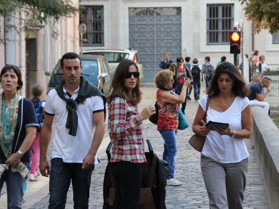 Jeu de Piste avec un Smartphone à Grenoble