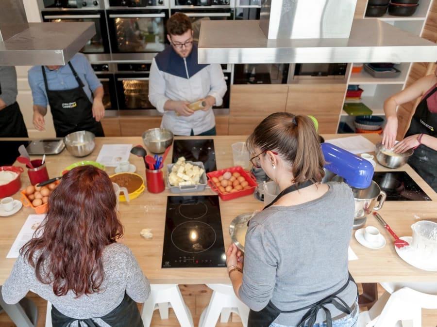 Team Building Atelier Cuisine ou Pâtisserie à Vincennes