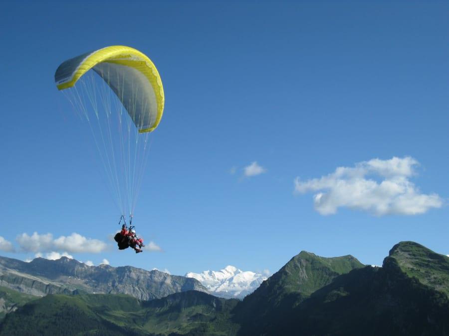 Vol en parapente proche Grenoble (38)